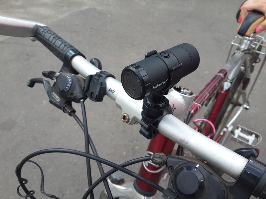 Видеорегистраторы для велосипедов