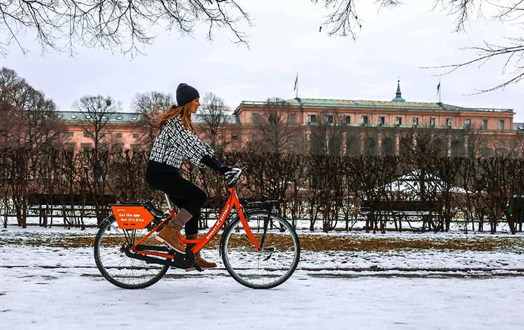 Как ездить зимой на велосипеде