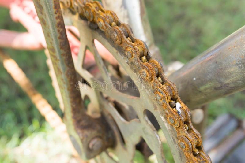 Как убрать ржавчину с велосипеда?