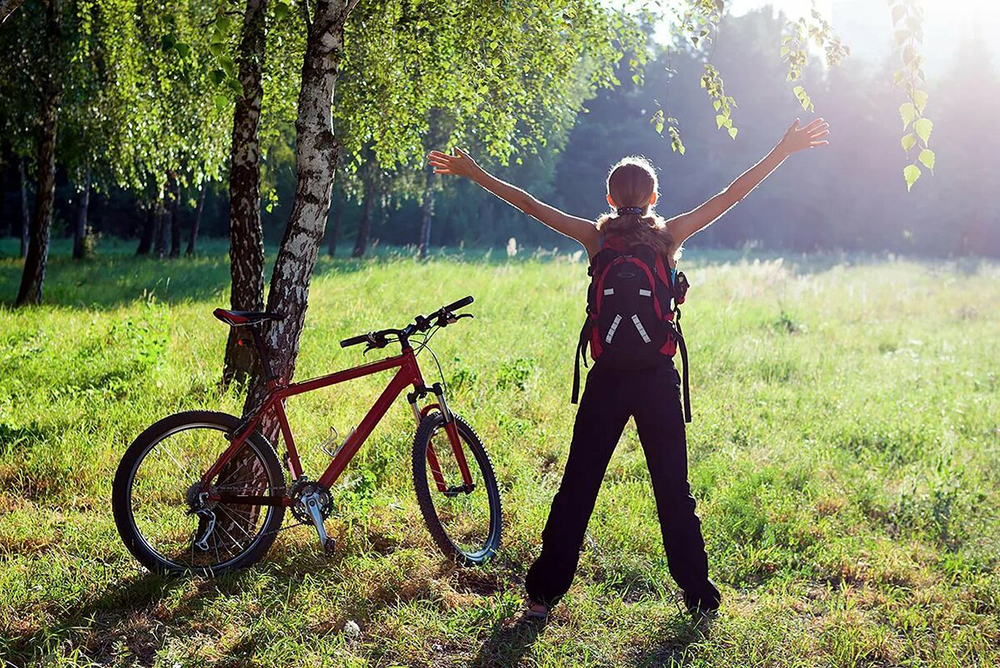 Езда на велосипеде как вид активного отдыха. польза и вред езды на велосипеде