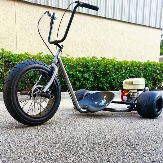 Чертеж трехколесный велосипед для дрифта. дрифт трайк своими руками