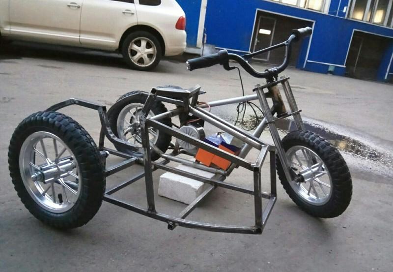 Велосипед своими руками – копилка мастер-классов с использованием различных материалов