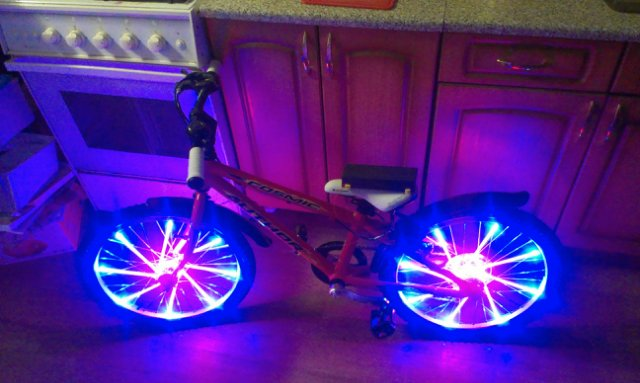 Светодиоды для велосипеда