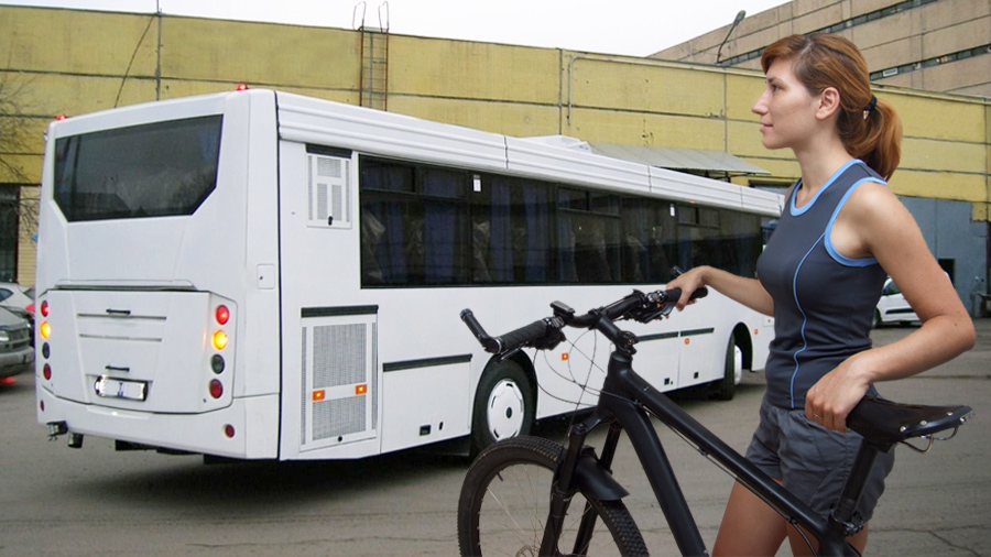 Можно ли провозить велосипед в автобусе