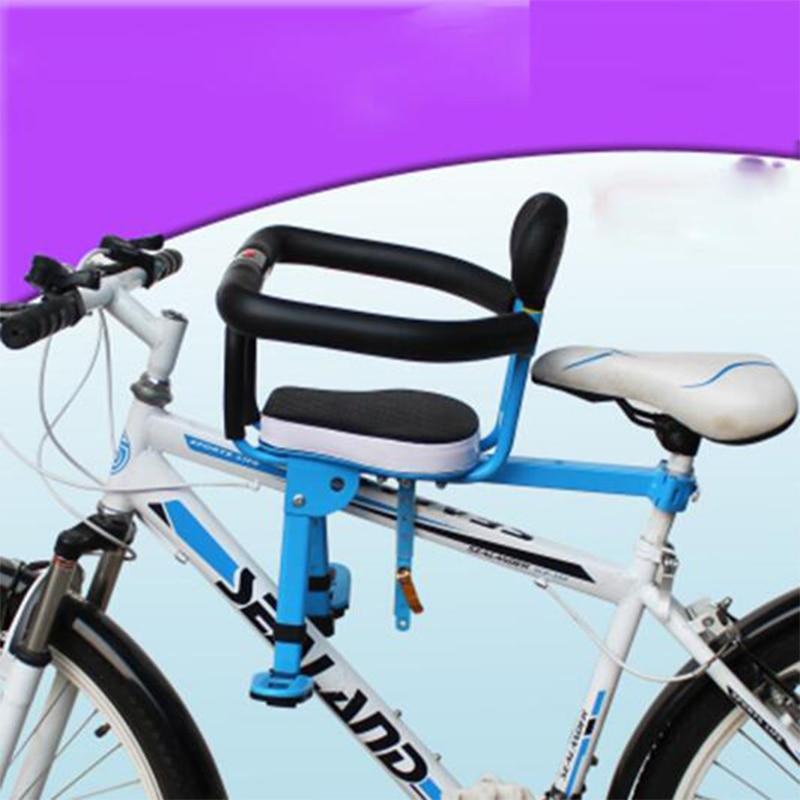 Как выбрать детское велосипедное кресло на раму