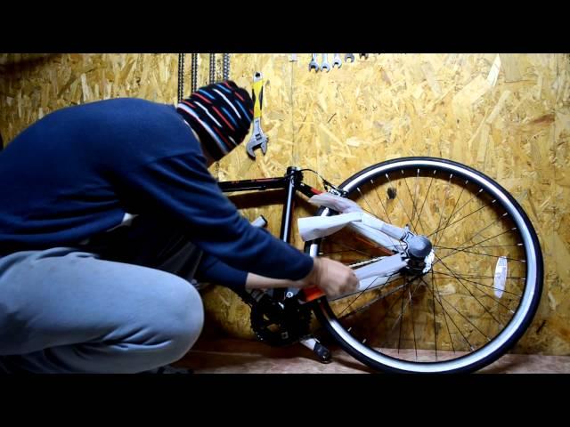 Как из обычного велосипеда сделать бмх своими руками