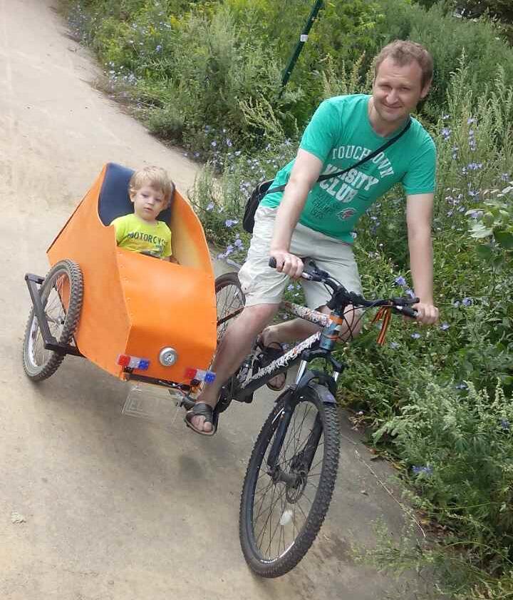 Помогите что выбрать велосипед или коляску-трость?