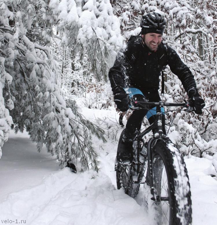 Особенности езды на велосипеде зимой