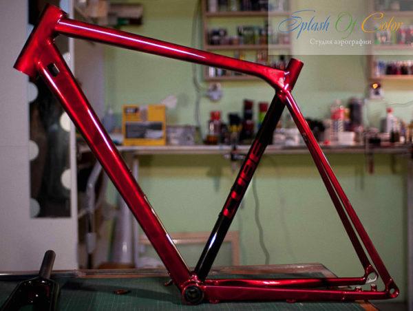 Как покрасить велосипед, инструменты, материалы, этапы работы