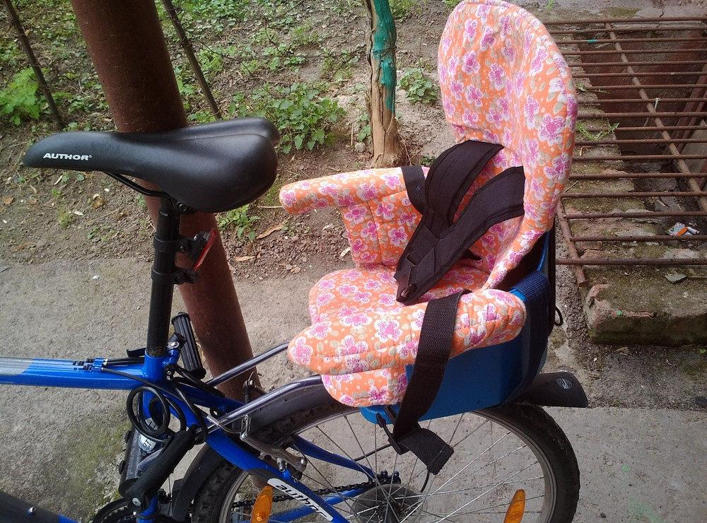 Детское велокресло как выбрать?