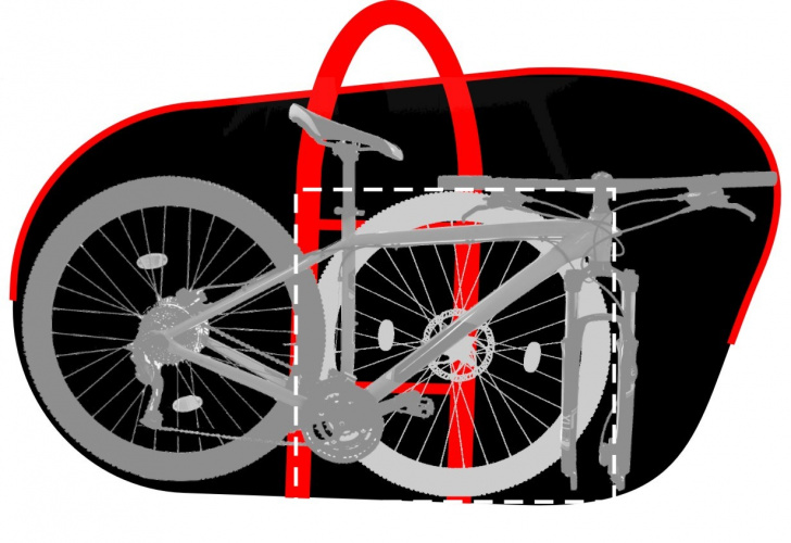 Каким должен быть велосипедный чехол: основные характеристики