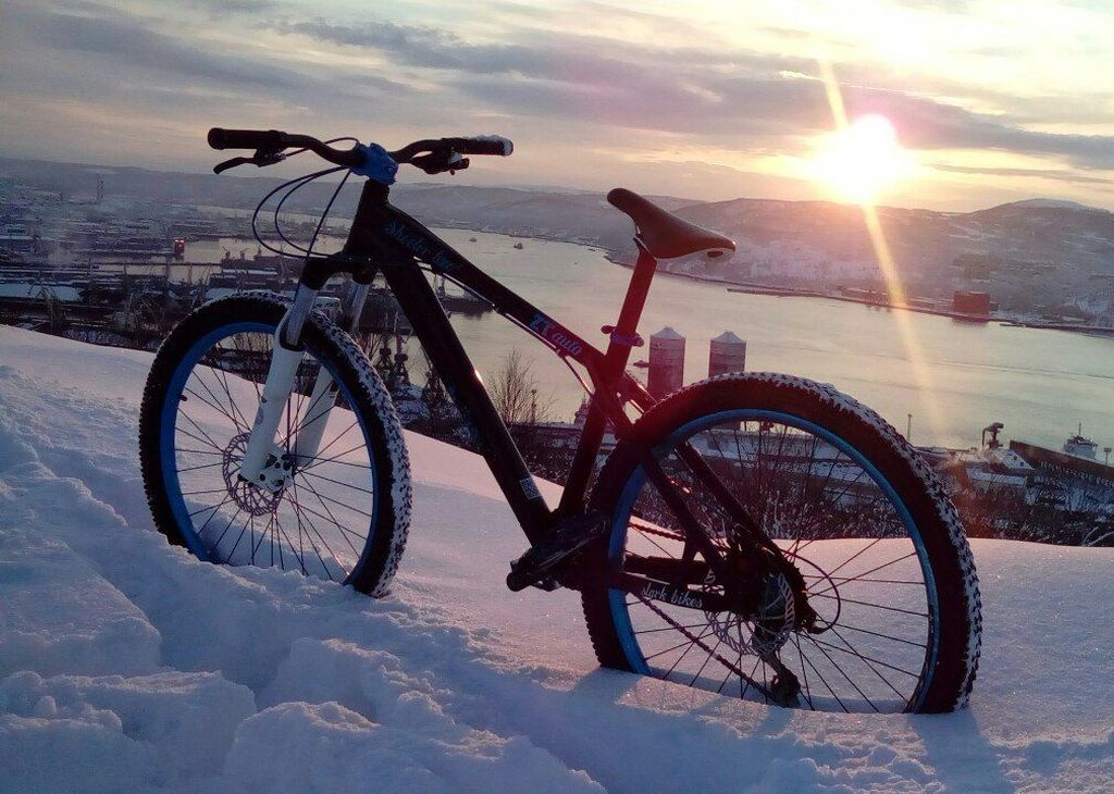 Велосипеды для зимы - какой он должен быть