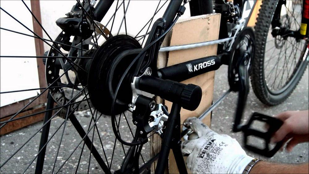 Как устранить прокруты на простом велосипеде — rollerbord