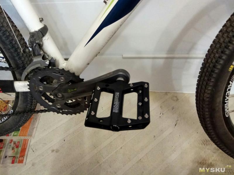 Какие выбрать педали для велосипеда, их виды (контактные, складные)