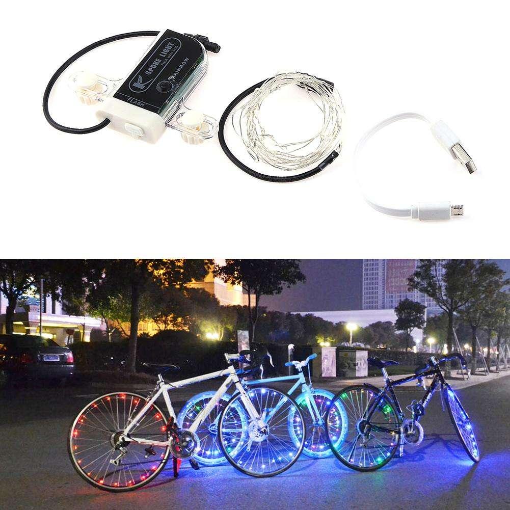 Подсветка для велосипеда – устанавливаем светодиоды на колеса и раму своими руками