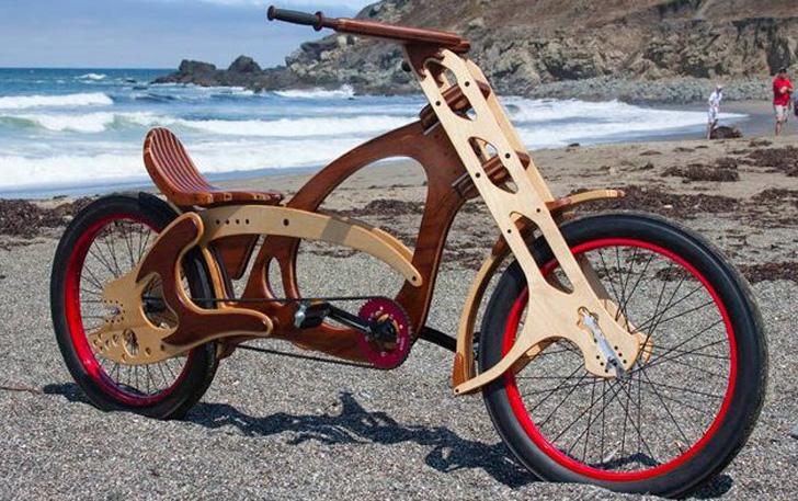 От создателей: как киевлянин производит деревянные велосипеды - новости киева на бж