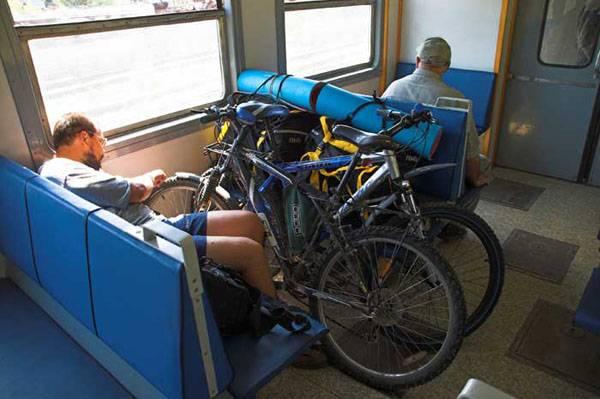 Как провезти велосипед в электричке: подробная инструкция