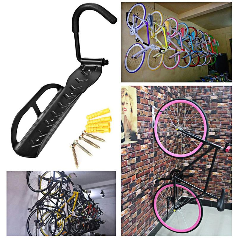 Разновидности крепления на стену для велосипеда