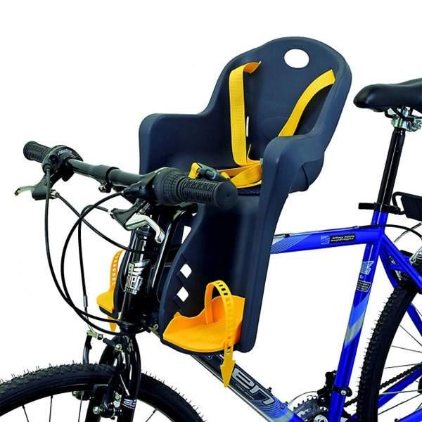 Топ 7 детских кресел для велосипеда с креплением на раму спереди: рейтинг лучших