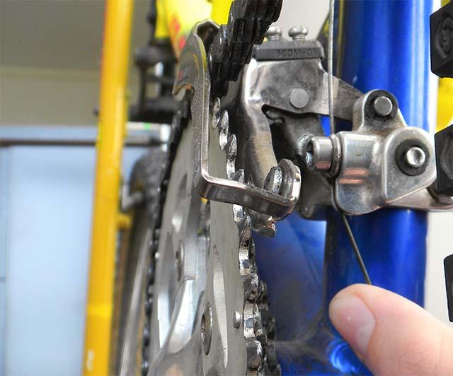 Настройка скоростей велосипеда