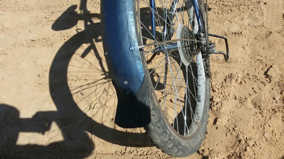 Виды брызговиков для велосипеда - обзор