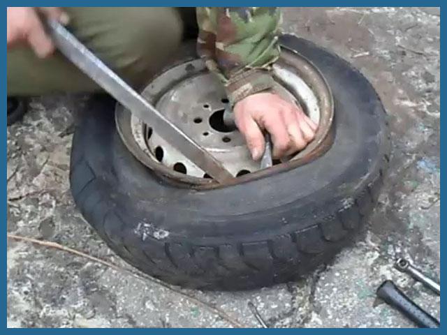 Как бортировать колесо на велосипеде — rollerbord