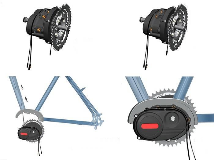 Электромотор для велосипеда, виды, порядок самостоятельного монтажа