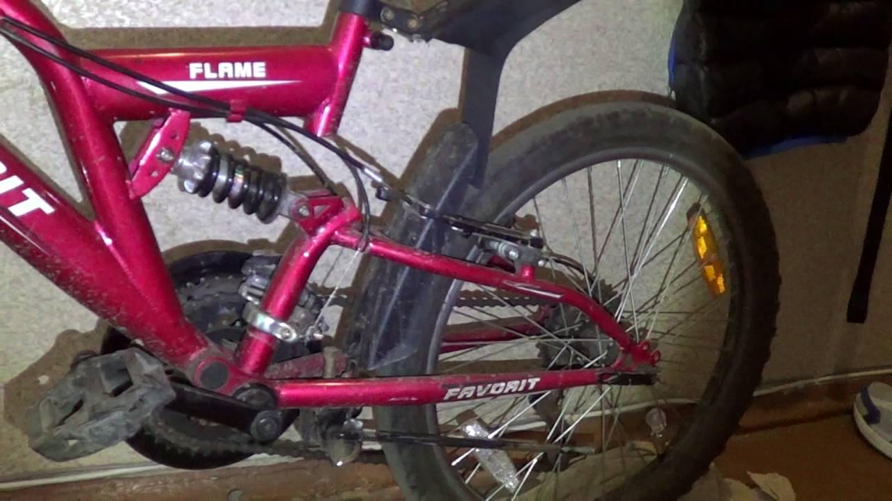 Самостоятельное изготовление крыльев велосипеда