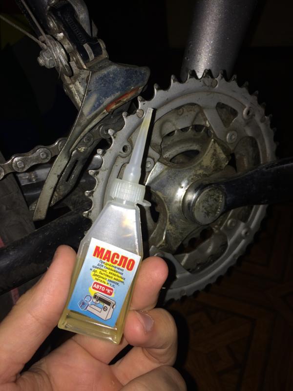 Чем смазать цепь велосипеда в домашних условиях