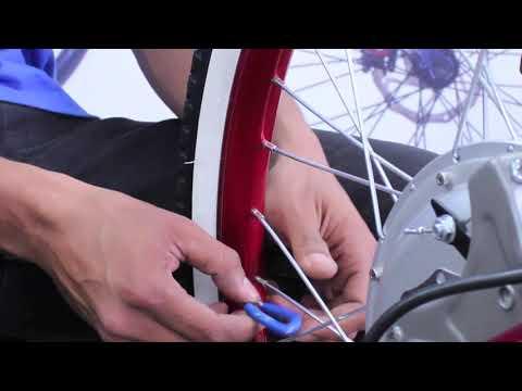 Спицовка колеса велосипеда своими руками