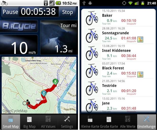 Обзор мобильных приложений-навигаторов для похода в лес