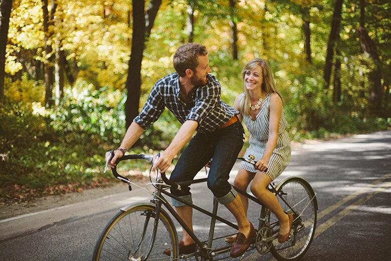 Велосипед-тандем: особенности, преимущества и недостатки