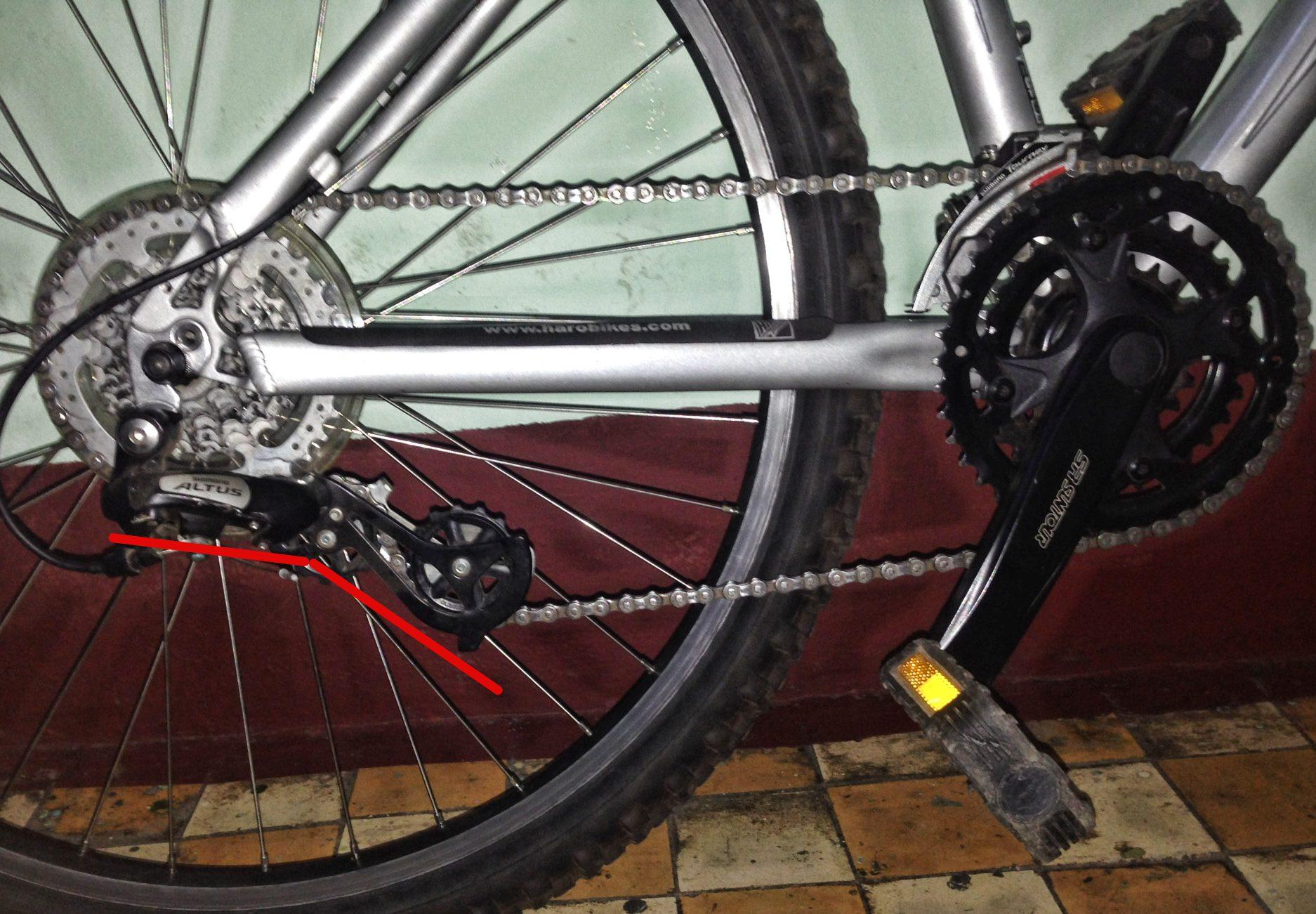 Как сделать успокоитель велоцепи своими руками из подручных материалов