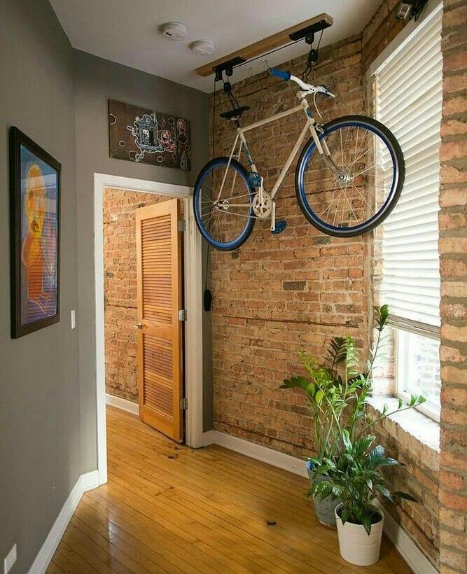 Как правильно хранить велосипед в квартире