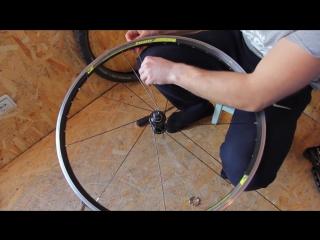 Как подтянуть спицы на велосипеде самостоятельно