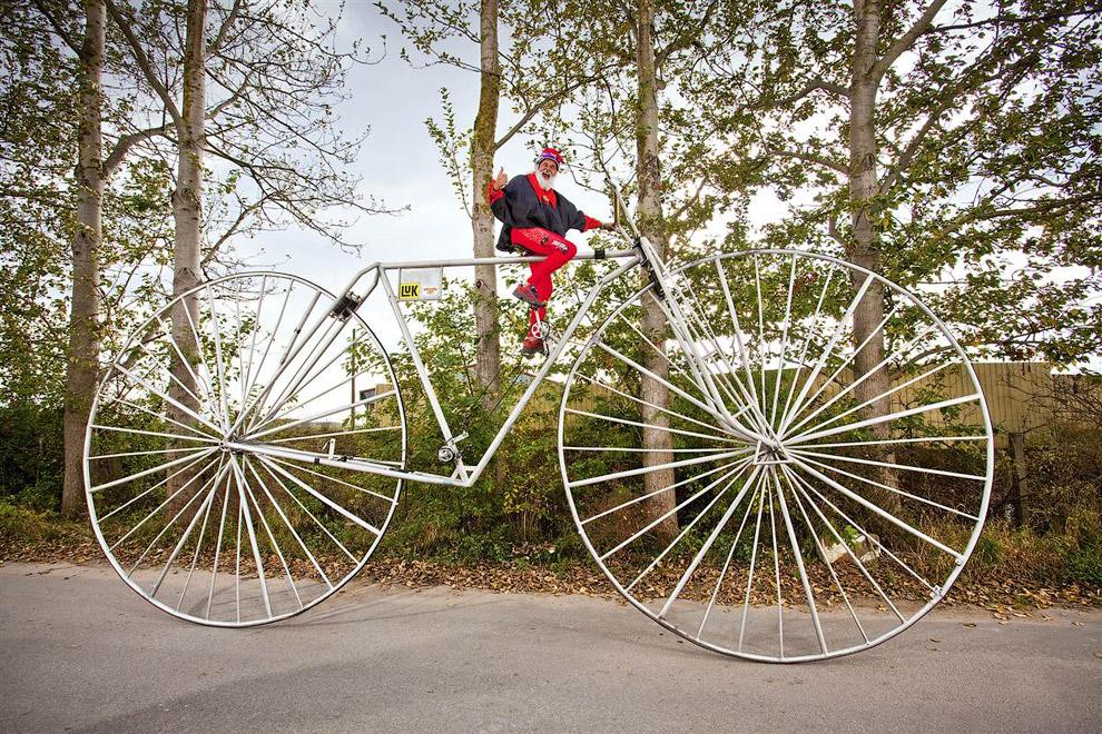 Самые необычные велосипеды мира (фото). необычные велосипеды своими руками