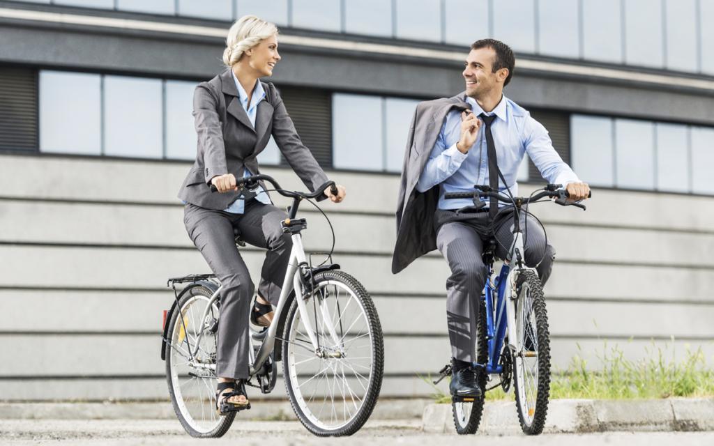 На работу на велосипеде. возможно и нужно ли это? | сайт котовского