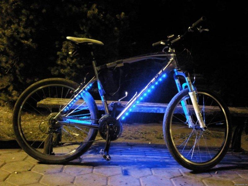 Подсветка на велосипед – для чего нужна и как выбрать.