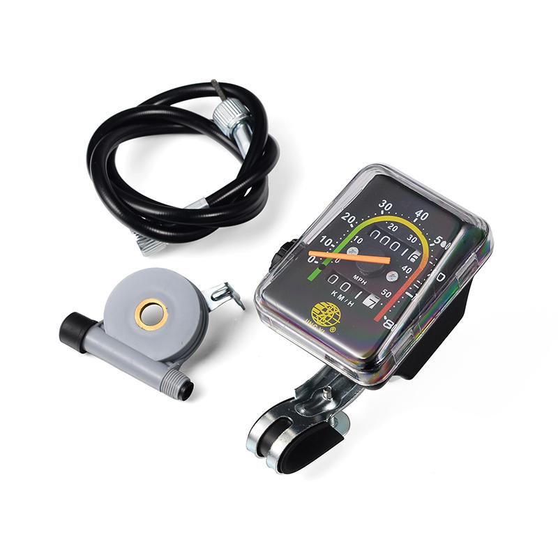Самодельный цифровой спидометр и электронный одометр для автомобиля или велосипеда