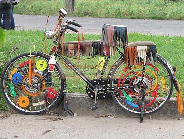 Как самому покрасить велосипед - полный мануал
