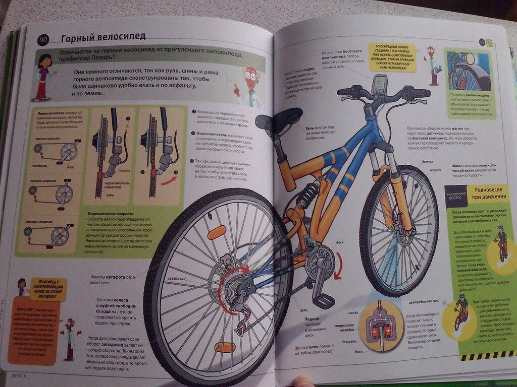 Отличия между горным и дорожным велосипедом