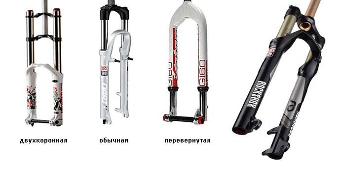 Ремонт вилки велосипеда