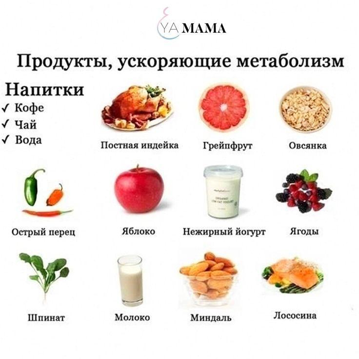 7 продуктов, ускоряющих метаболизм