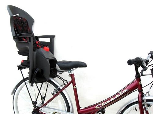 Детские кресла на раму велосипеда