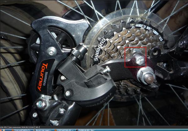 Как починить петушок на велосипеде