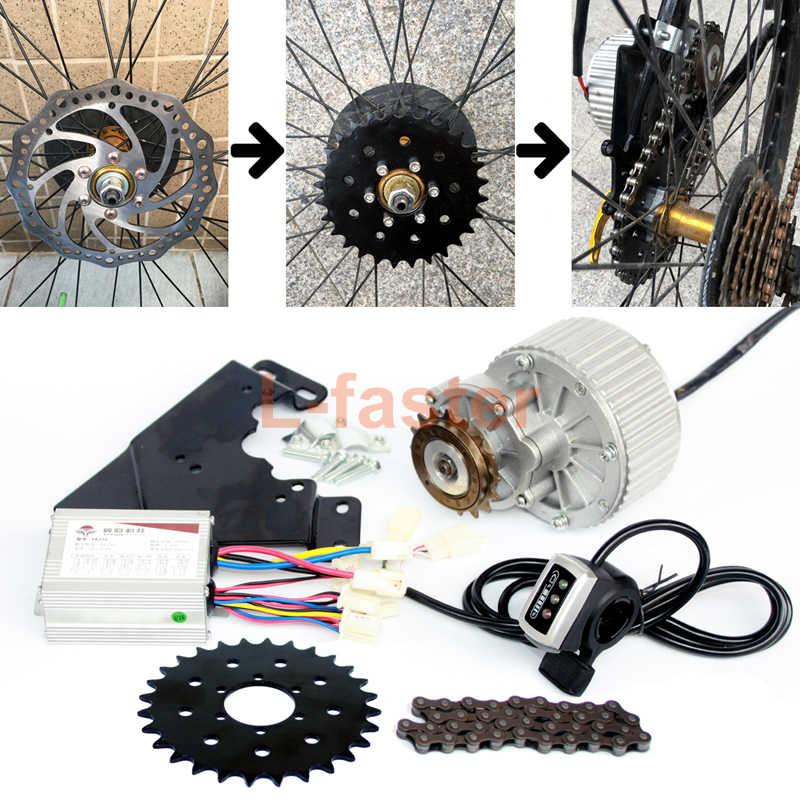 Как подобрать электромотор для велосипеда и установить его своими руками