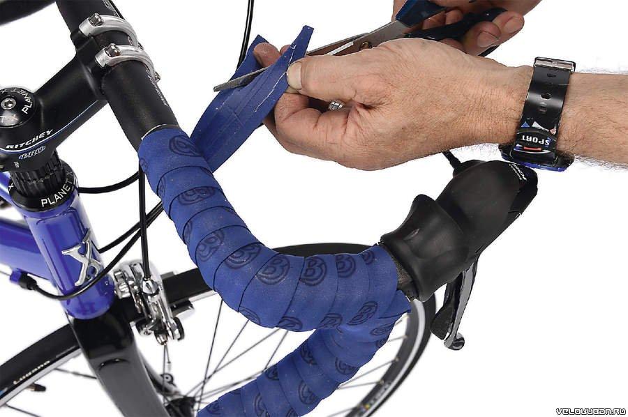 Обмотка для руля велосипеда, зачем нужна обмотка, обмотка руля велосипеда кожей