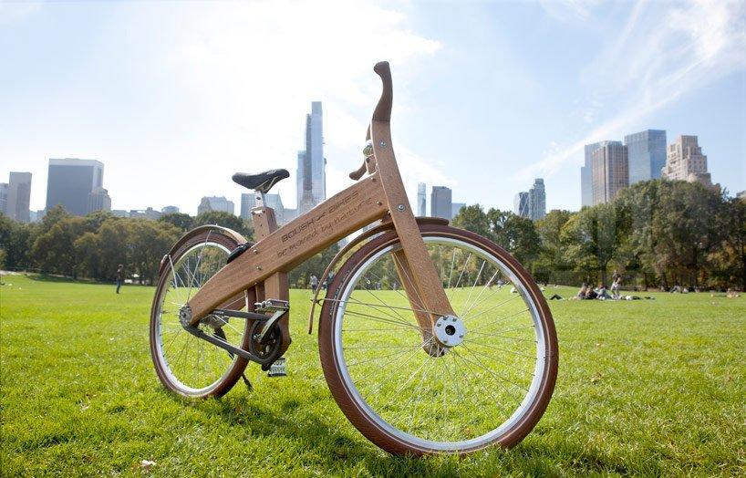 Деревянный велосипед. история создания, современные модели, как изготовить самостоятельно.