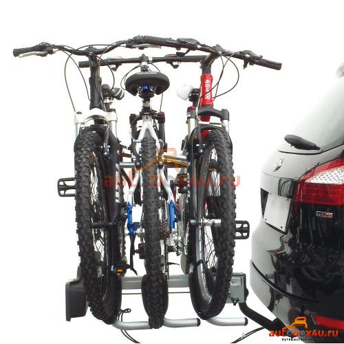 Крепление, багажник для велосипедов на фаркоп машины