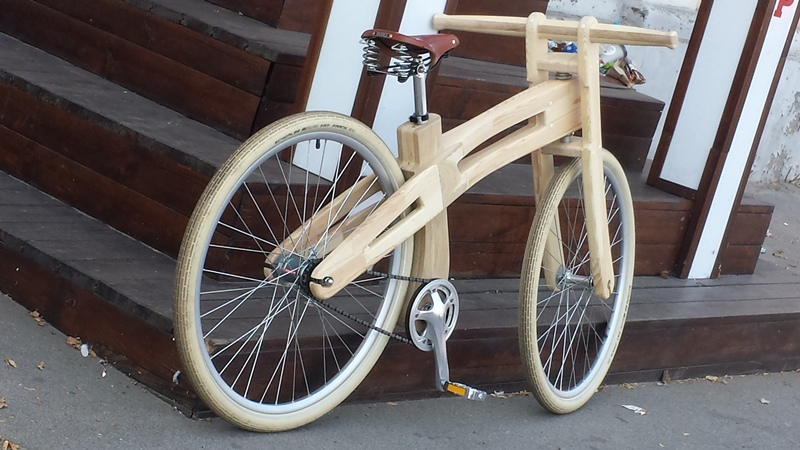 Велосипед из досок. велосипед из дерева – своими руками